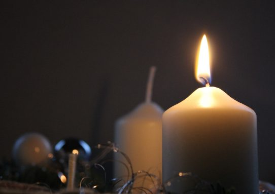 Black Friday and One Reluctant Candle